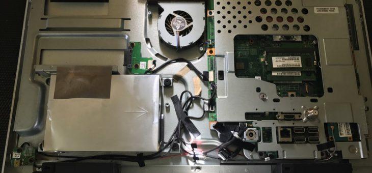 またテレビ一体型パソコンの修理依頼